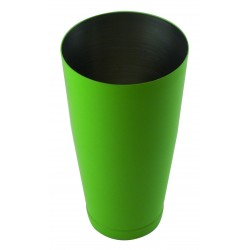 Shaker bostoński - obciążony 0,8l zielony