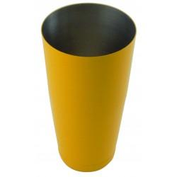 Shaker bostoński - obciążony 0,8l żółty