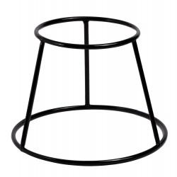 Podstawa okrągła Verlo h. 15 cm czarna