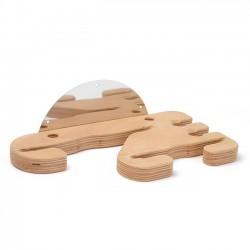 Wieszak drewniany na łopaty i szczotki do pizzy - 4 miejsca