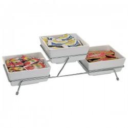FLOAT SMALL stojak bufetowy 55.5x19x15.5cm