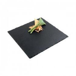 SLATE płyta kwadratowa 25cm łupek