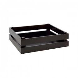 SUPER BOX  pojemnik drewniany GN1/2 czarny