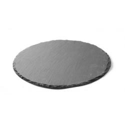 Płyta łupkowa - okrągła zestaw 2 szt. śr. 300 mm