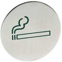 Tabliczka informacyjna na drzwi dla palących