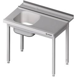 Stół załadowczy(P) 1-kom. bez półki do zmywarki STALGAST 800x750x880 mm skręcany