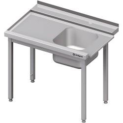 Stół załadowczy(L) 1-kom. bez półki do zmywarki STALGAST 900x750x880 mm skręcany