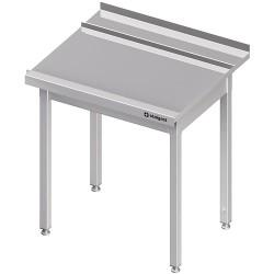 Stół wyładowczy(P), bez półki do zmywarki STALGAST 800x750x880 mm skręcany