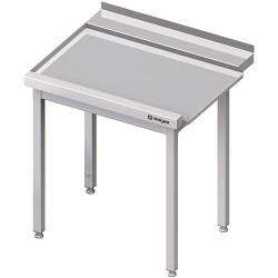 Stół wyładowczy(L), bez półki do zmywarki STALGAST 800x750x880 mm skręcany