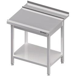 Stół wyładowczy(P), z półką do zmywarki STALGAST 900x750x880 mm spawany