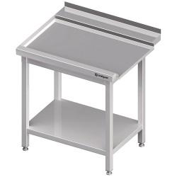 Stół wyładowczy(L), z półką do zmywarki STALGAST 800x750x880 mm spawany