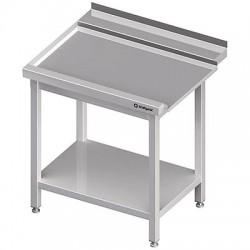 Stół wyładowczy(L), z półką do zmywarki STALGAST 900x750x880 mm spawany